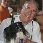 Werner Götze, LV 31 mit Hund - ständiges Paar auf DKB-Veranstaltungen