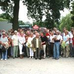 Gruppenbild auf der Raststätte Wülferode
