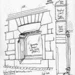 Skizzen für die Präsentation von Haus Leibnizstraße 13