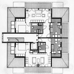 Grundriss des Dachgeschosses