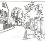 Gestaltung von Strassen und Einfriedungen - 1