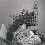 Seitenansicht der konstruktiven Struktur