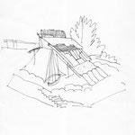 Ideenskizze 2 (Ferienhaus)