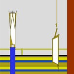Entwurf für Aufsatz- und Hängeleuchten