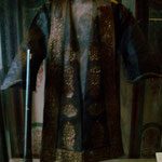 Ledermantel eines Mongolen