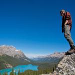 Blick auf den Peyto Lake © Banff Lake Louise Tourism, Paul Zizka