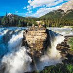 Athabasca Falls Rainbow © SteveAlkok @stevealkok