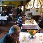 Blick in den Turniersaal - die Rothenburger Schachfreunde...