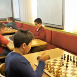 Viele spannende Partien wurden gespielt...