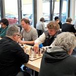 Die Spieler unserer Mannschaft (von links nach rechts): Jakob Ackermann, Johannes Kiefer, Jürgen Zollstab, Shaiar Khalil