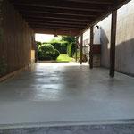 Bodenbeschichtung mit Anti-Rutsch-Effekt