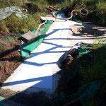 Dehnfugenreparatur/Dachabdichtung - nachher