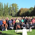 Ca. 50 Freunde und Bekannte waren an diesem Vormittag nach Löbnitz gekommen, um dem Jubilar zu gratulieren.