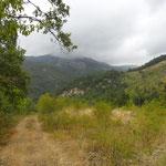Vista particolare vallata di Pozzolo