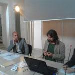 Giornate di Natura & Psiche 2015 Antoine Fratini e Lance henson