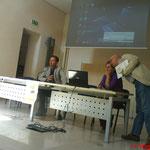 Giornate di Natura & Psiche 2014 Antoine Fratini, Elisa Galli e Mauro Bonaiuti