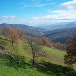 Vista vallata di Pozzolo