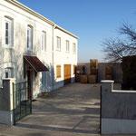 La cour intérieure du Domaine Viticole.