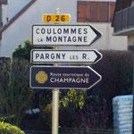 Le Domaine est sur la route touristique du Champagne.