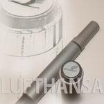 Lufthansa Sondermodell Aluminium - Design, Konstruktion  AV