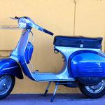Vintage Vespa, Nice  Photo: Lulu Roseman