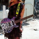 "J.D. Natasha with 'Yepes Signature' Gibson Custom ""J.D. Natasha"" Guitar • Austin, Texas  USA"