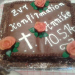Konfirmations Torte