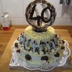 Geburttags Kuchen 40zigsten