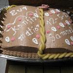 Kuchen zur Konfirmation