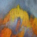 """ART HFrei - """"Stürmisch"""" - Ölpastell - 2008"""