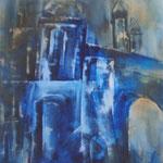 "ART HFrei - ""Altstadt"" - Öl - 2008"