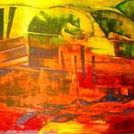 """ART HFrei - """"Erinnerungen"""" - Acryl - 2008"""