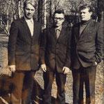 А.Ф. Сковородников первый слева
