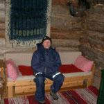 Röbi Hedinger, der Züchter von Ilannaq und unser Gastgeber in Finnland.