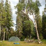 Camping im Niemandsland, erste Nacht mit Troll...