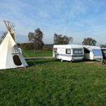Unser Camp für ein paar Tage...