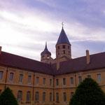 Abbaye de Cluny, vue extérieure, transept sud (Avec l'autorisation des Monuments Nationaux ©CMN-Paris)