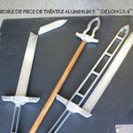 Accessoires créés pour la pièce de Robert Lepage «Der Ring des Nibelungen»