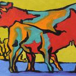 Vache 1302 14X20