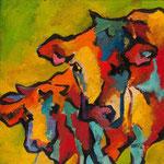 Vache N°12-2 20X20