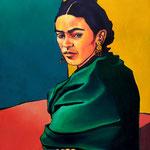 Frida Kahlo 81X100