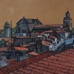 Les toits de Port-Joinville 70X100