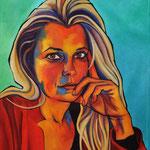 Fossati : autoportrait 81X100