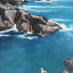 Falaises de l'île d'Yeu 70X50