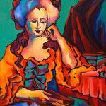 Madame de Montesson 81X100