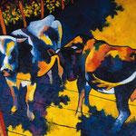 Les deux vaches 75X90