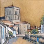 L'église de Saint Sauveur 50X50