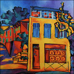 La maison jaune de Bandol 100X100