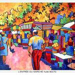 Bastille : l'allée du marché