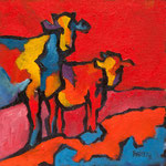 Vache N°12-3 20X20